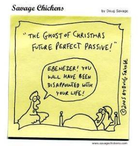Future perfect passive